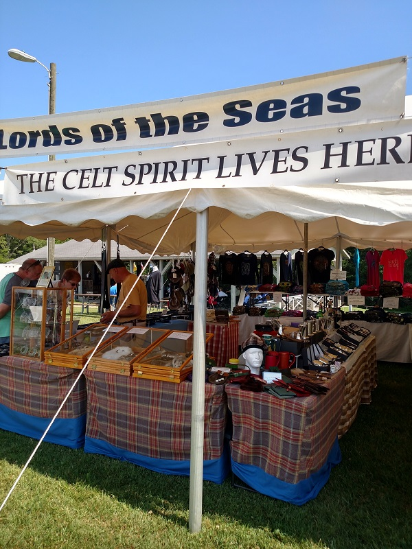 Lords of the Seas Festival Booth around the time of The Feast of Juul